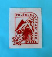 ZELJEZNICAR SID - Serbian Mountaineering Club Old Patch * Climbing Alpinisme Bergsteigen Alpinismo Arrampicata Klettern - Sports