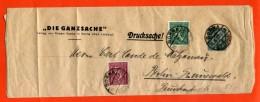 ALLEMAGNE ENTIER POSTAL REPIQUE 15PF OBLITERE DE BORNA POUR BERLIN - Briefe U. Dokumente