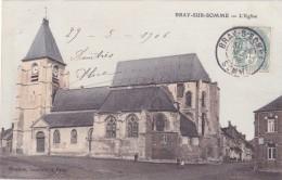 CPA 80 @ BRAY Sur SOMME @  L' Eglise En 1906 - Bray Sur Somme