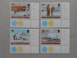 Y207 BAT Brit Antarctic Terr., Gebiete Antarktis 221 - 224 Mnh Operation Tabarin - Ungebraucht