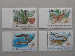 Y211 BAT Brit Antarctic Terr., Gebiete Antarktis 173 - 176 Mnh Mesozoikum - Ungebraucht