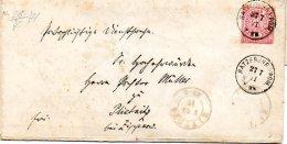L004   Ratzebuhr En Pomeranie  1871 Pour Stettin - Deutschland