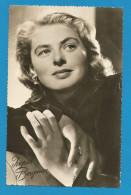 (A174) Signature / Dédicace / Autographe Original De Ingrid Bergman - Actirce - Format 9x14cm - Autographes