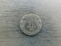 Chilie  1  Peso  1978  Km 208 - Chile