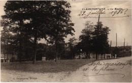 CLAIREFONTAINE (78) Le Moulin - Très Très Rare - écrite Au Verso - France