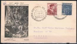 1947.-  SEVILLA A TANGER - 1931-50 Lettres