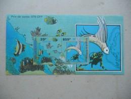 Y235 Wallis Und Futuna - Block 8 Mnh - Fisch Koralle - Blocks & Kleinbögen