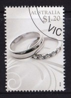 Australia 2010 For Special Occasions $1.20 Wedding Rings CTO - Used Stamps