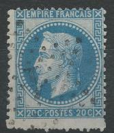Lot N°31759   N°29, Oblit étoile Chiffrée 1 De PARIS ( Pl De La Bourse ) - 1863-1870 Napoleon III With Laurels