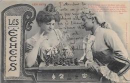 CPA Jeu échecs Chess Circulé - Chess