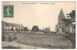 95 - VILLERS-EN-ARTHIES - L'Orphelinat Et L'Eglise - Autres Communes