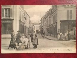 Saint - Leu - Taverny / Val D'Oise / ( Saint-Leu-la-Forêt ) / 95320 / E LEMIRE  EDIT N° 14 / Animée / EGLISE / - France