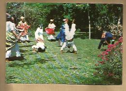 Jolie CP Kolklore Guyanais Guyane La Danse Du Mouchoir - Danseur Costume - Ed Des Caraïbes Delabergerie Cayenne N° 165 - Dances