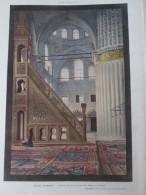 1910 Mosquée Du Sultan Ahmet ISTAMBUL DAMAS Mausolée Des Derviches Tourneurs  Koniah  Cimetiere Brousse  Omar  Tramways - Vieux Papiers