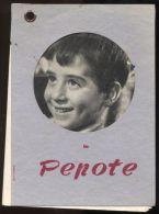B1665 PABLITO CALVO IN PEPOTE, UN FILM DI LADISLAO VAJDA - Pubblicitari