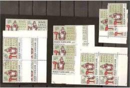 1981 Vaticano Vatican VIRGILIO  VIRGIL 10 Serie Di 2v.: 8 MNH**+2 Usate USED With Gum - Celebrità