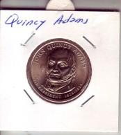 Stati Uniti 2008 - 1 Dollaro Quincy Adams - Zecca P - Emissioni Federali