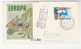 1963 SAN MARINO  FDC EUROPA  Stamps Cover - FDC