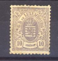 05605  -   Luxembourg  :   Mi  40 C  *  Dentelé 11 1/2 X 12 1/2 - 1859-1880 Coat Of Arms