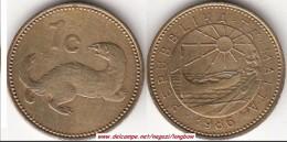 MALTA 1 CENT 1986 (Lira) KM#93 - Used - Malta