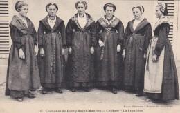 "6t - 73 - Bourg-Saint-Maurice - Savoie - Costumes De Bourg-Saint-Maurice - Coiffure ""La Frontière"" - N° 147 - Bourg Saint Maurice"