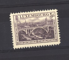 05616 -   Luxembourg  :   Mi  136 B  *   Dentelé 12 1/2 - Luxembourg