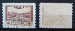 Polen Lokale Post Stadt Przedborz 1918 Mi.Nr.8  Gestempelt     (H171) - Gebraucht