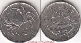 MALTA 5 CENTS 1986 (Lira) - KM#77 - Used - Malta