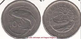 MALTA 10 CENTS 1986 (Lira) - KM#76 - Used - Malta