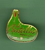 MINI-GOLF *** LE CASTELLAN *** 0001 - Golf