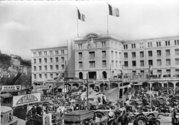 LYON -  Foire Internationale De Lyon Terrain Centre Et Façade Du Grand Palais Stands Matériels Agricoles Tracteurs - Andere