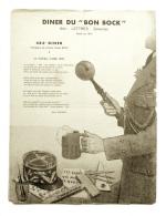 Diner Du Bon Bock N°483 Février 1954 Poésie Emile Moussat, Illustration- Weijman - Menus