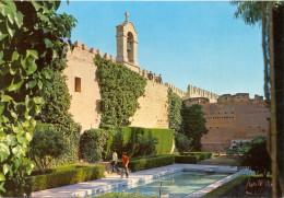 Espagne -  Almeria - La Alcazaba - Tour De La Vela Et Jardins De L'Estanque - Ortama Almeria - Série 92 Nº 22 - 1149 - Almería