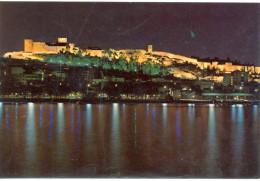 Espagne -  Almeria - Port Et Alcazaba (Château Fort) Illuminés - José Salas Ibañez - Nº 55 - 1154 - Almería