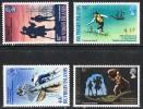British Virgin Islands SG232-235 1969 75th Death Anniversary Of Robert Louis Stevenson Set 4v Complete Unmounted Mint - British Virgin Islands