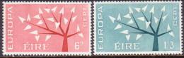 IRELAND 1962 SG #191-92 Compl.set MH Europa - 1949-... Republic Of Ireland