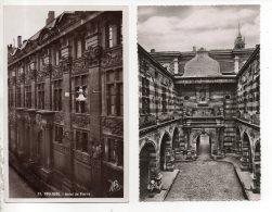 """31 - TOULOUSE .""""  LE CAPITOLE . COURS HENRI IV """" & """" HÔTEL DE VILLE """" . 2 CARTES POSTALES - Réf. N°16239 - - Toulouse"""