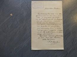 86 LA ROCHE-POSAY 1903 Pharmacien De Roche / Actions Sté Thermale  ; Ref 646 V 03 - Autographs