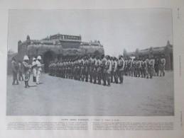 1910 ZINDER   Notre Armée D Afrique Tirailleurs Senegalais Ouadai Tchad  Abeché Damagaram Niger - Vieux Papiers