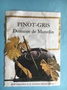 1161 - Suisse Vaud Pinot Gris Domaine De Marcellin Ecole D'agriculture Et De Viticulture De L'Etat De Vaud - Etiquettes