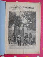 Les Nouvelles Illustrées N° 15 De 1902. Expulsion Soeurs Bretagne Montelimar Loubet Phares Shah Perse Vélo - Autres