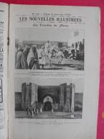 Les Nouvelles Illustrées N° 33 De 1903. Tuberculose Humbert Henriot Troubles Maroc Nanking Hippopotame Jouet Malgache - Other