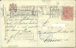 URUGUAY  Republica Oriental  Postcard  Nice Stamp - Uruguay