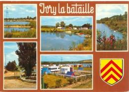 Cpsm -    Ivry La Bataille - Divers Vues         T572 - Ivry-la-Bataille