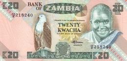ZAMBIA 20 KWACHA ND (1988) P-27e UNC  [ZM128e] - Zambia
