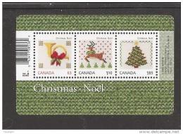 CANADA, 2013 #2687,  CHRISTMAS  Souvenir Sheet CRAFT, LOCAL USA INTERNATIONAL  RATE - Hojas Bloque