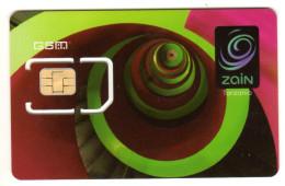 TANZANIE CARTE GSM ZAIN Verso Numeroté - Tanzanie