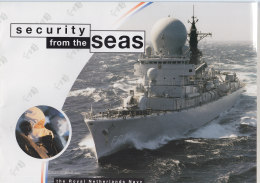 Security From The Seas, Broschüre Der Royal Nethelands Navy 1995 - Cataloghi