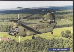 Boeing CH-47D Chinook, Der Koninklije Luchtmacht, Bild DinA 4 Mit Technischen Daten, 1996 - Cataloghi
