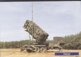 Patriot, Der Koninklije Luchtmacht, Bild DinA 4 Mit Technischen Daten, 1996 - Cataloghi